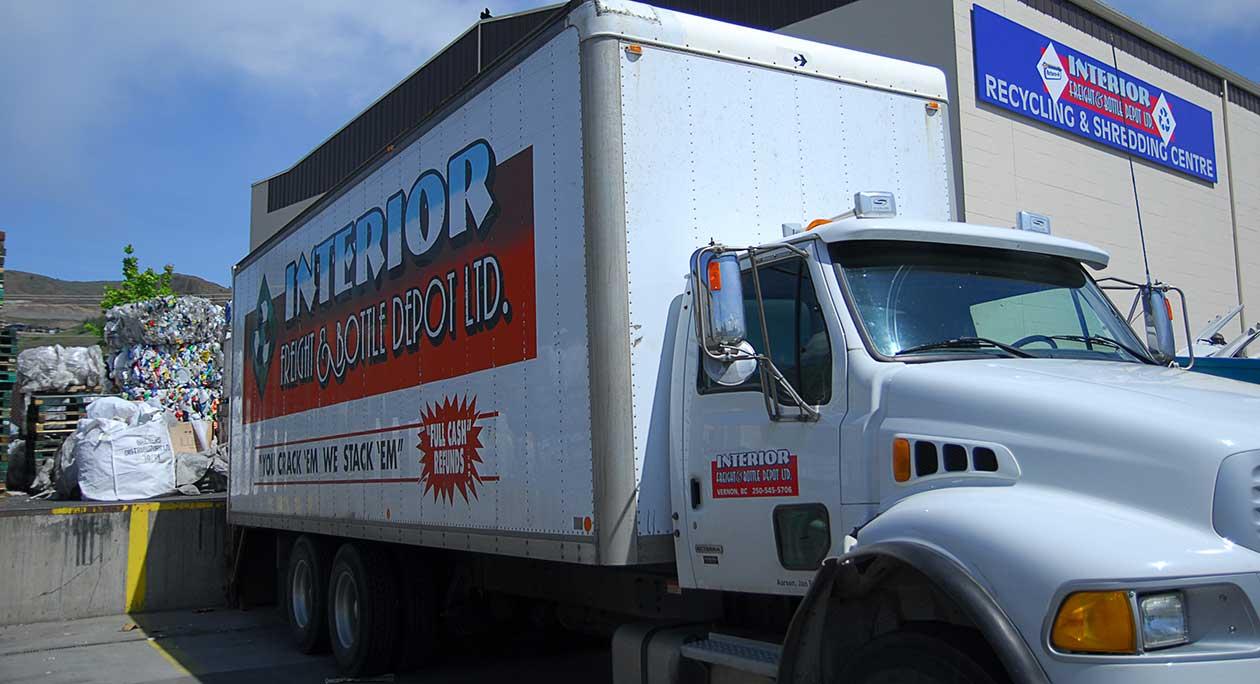 Interior Freight & Bottle Truck